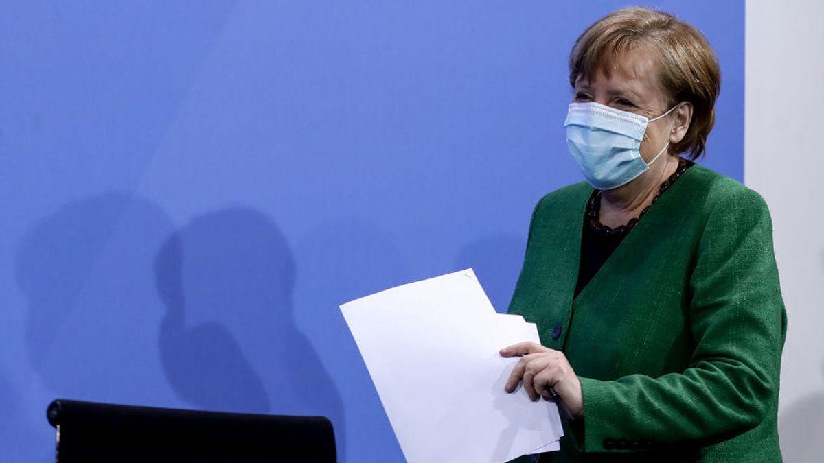 Merkel da marcha atrás al confinamiento pactado para Semana Santa