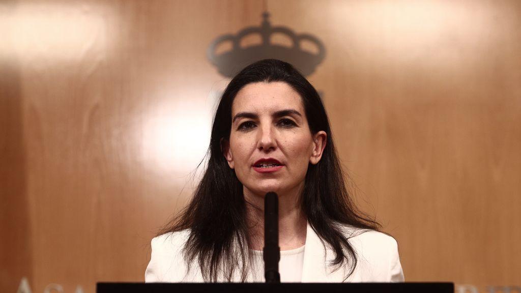 Vox confirma a Rocío Monasterio como cabeza de lista en las elecciones del 4M en Madrid