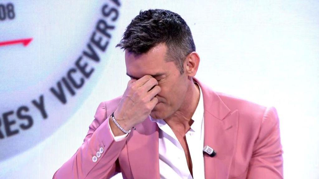 """Jesús Vázquez rompe a llorar con el emotivo mensaje del equipo de 'MyH': """"Gracias por remar con nosotros"""""""