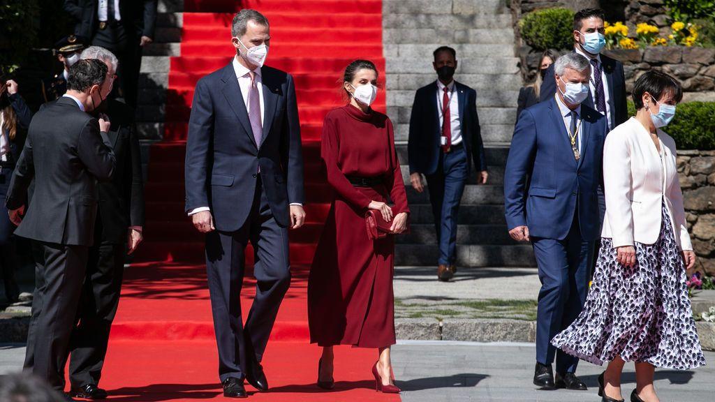 Los reyes visitan Andorra por primera vez en sus siete siglos de historia para coronar su relación con el Principado