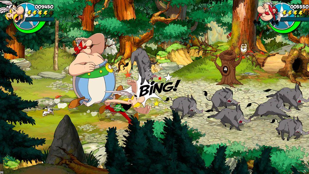 Asterix & Obelix: Slap Them: un beat'em up de los famosos galos que llegará en otoño