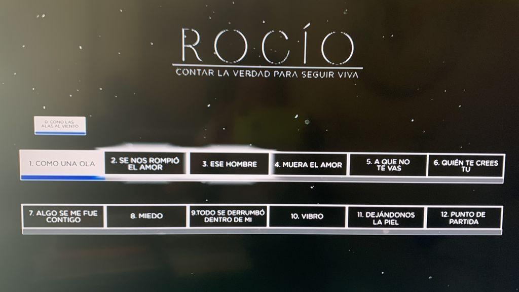 Los 13 episodios de la serie de Rocío Carrasco