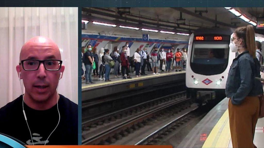 Amianto en el metro de Madrid