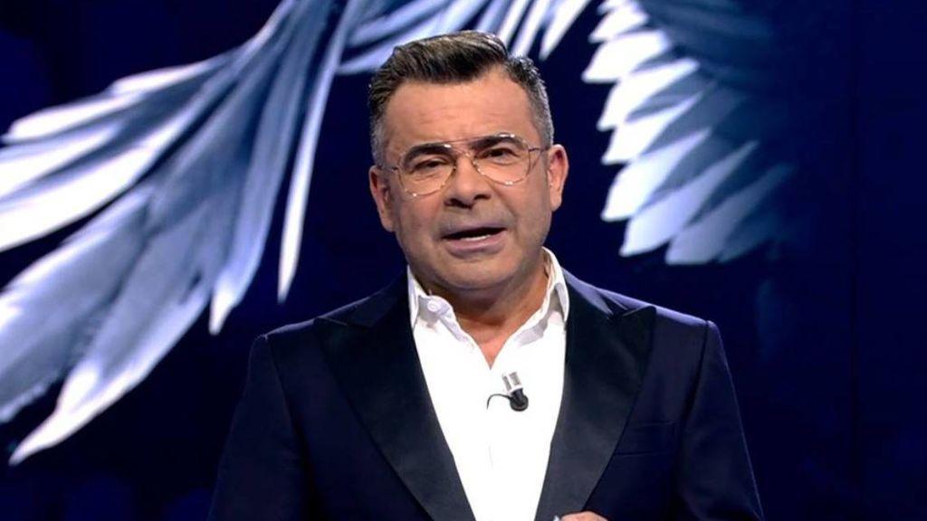 Jorge Javier Vázquez, durante la emisión del especial de Rocío Carrasco