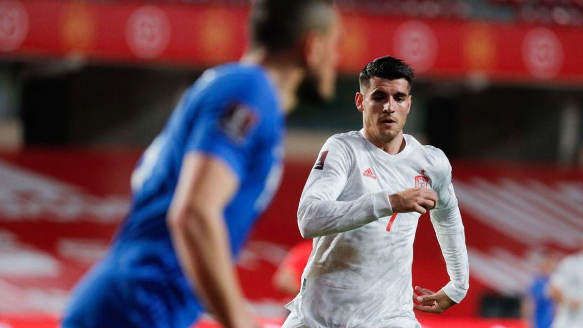 España no pasa del empate ante Grecia y ofrece muchas dudas a las puertas de la Eurocopa (1-1)