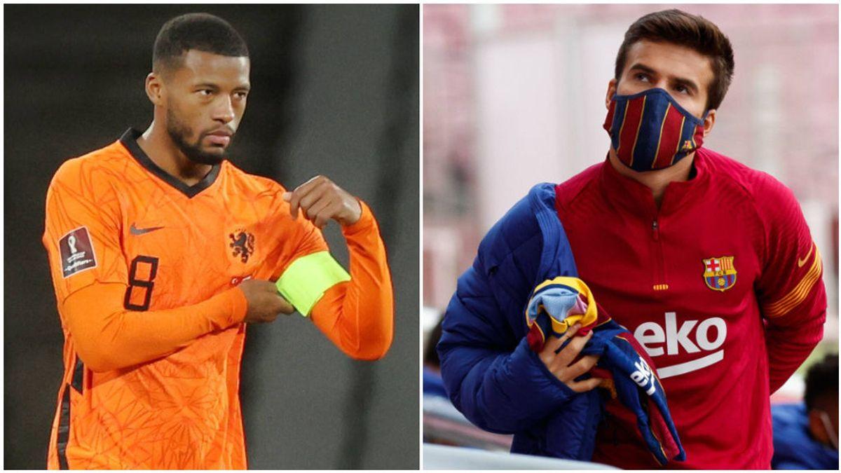 Koeman prefiere a Wijnaldum que a Riqui Puig en el Barcelona.