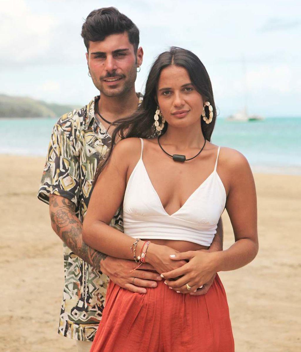 Hugo y Lara, en 'La isla de las tentaciones'
