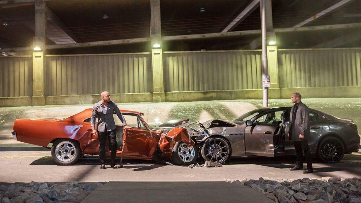 Vin Diesel, Bruce Willis o Schwarzenegger: nadie destroza más coches en Hollywood que los actores de 50