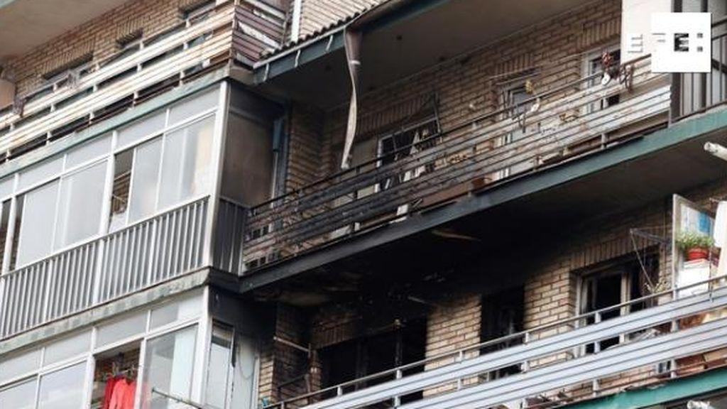 Una mujer muere al incendiarse su casa en Donostia