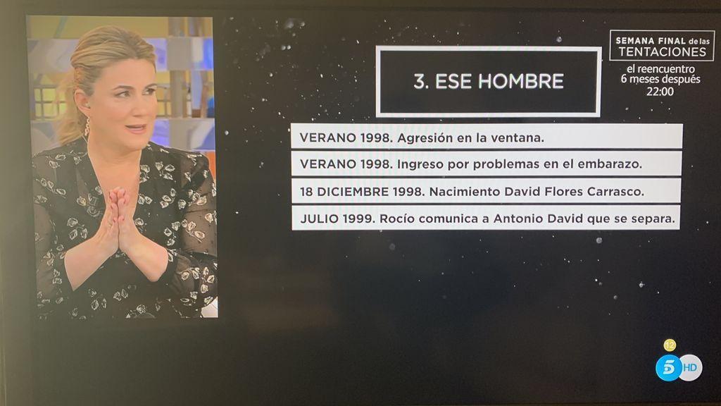 Episodio 3 de la serie de Rocío Carrasco