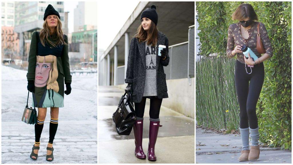 ¿Vuelven los calentadores? Kaia Gerber y otras celebrities se suman a esta moda tan original de los 2000.