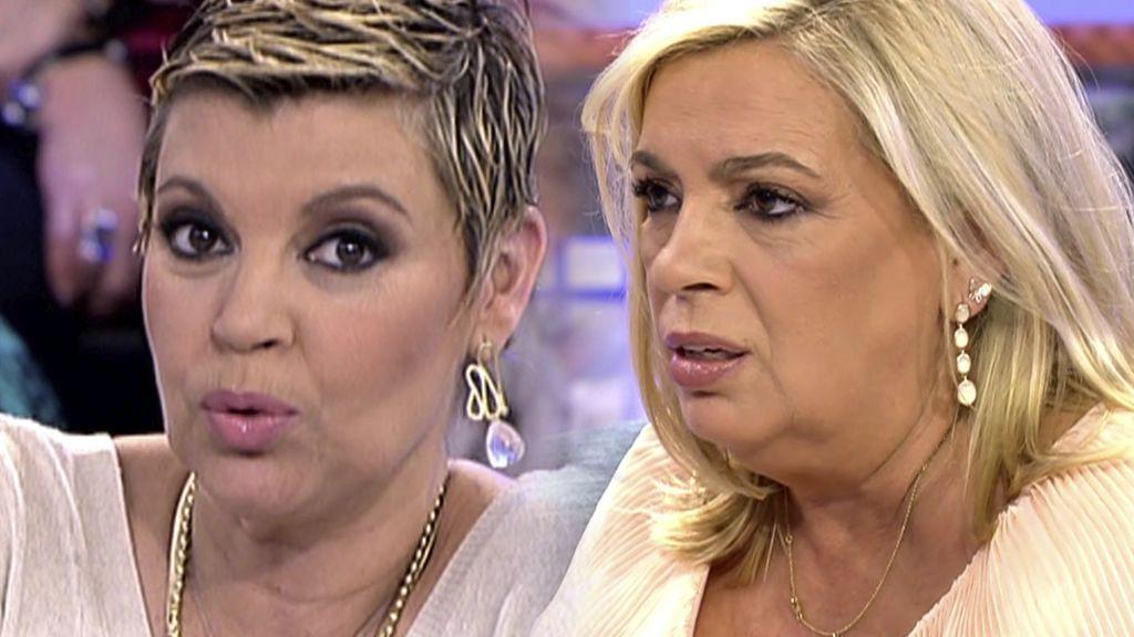 Terelu o Carmen Borrego: el test que reveló cuál de las hermanas Campos es más inteligente