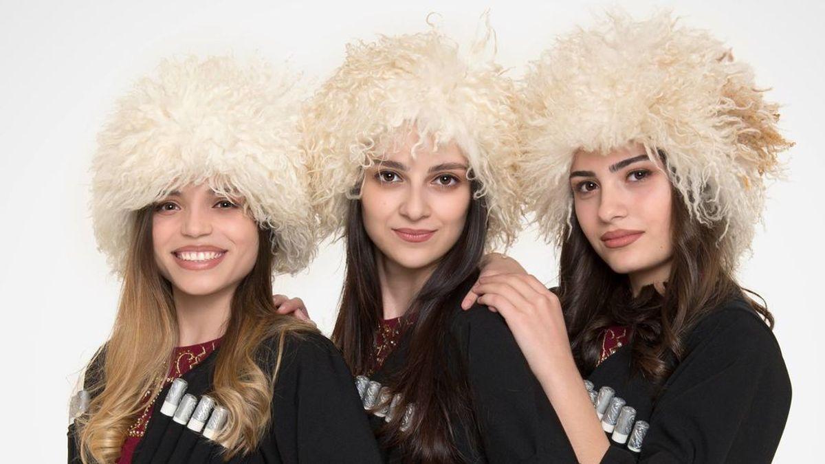 El Trío Mandili, el fenómeno viral formado por tres amigas de Georgia que rozó participar en Eurovisión