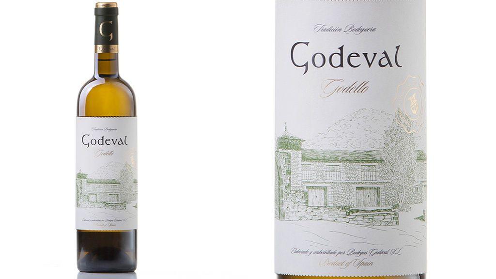Botella de vino Godeval