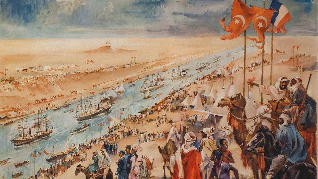 Desde los faraones hasta Napoleón: historia y curiosidades del Canal de Suez