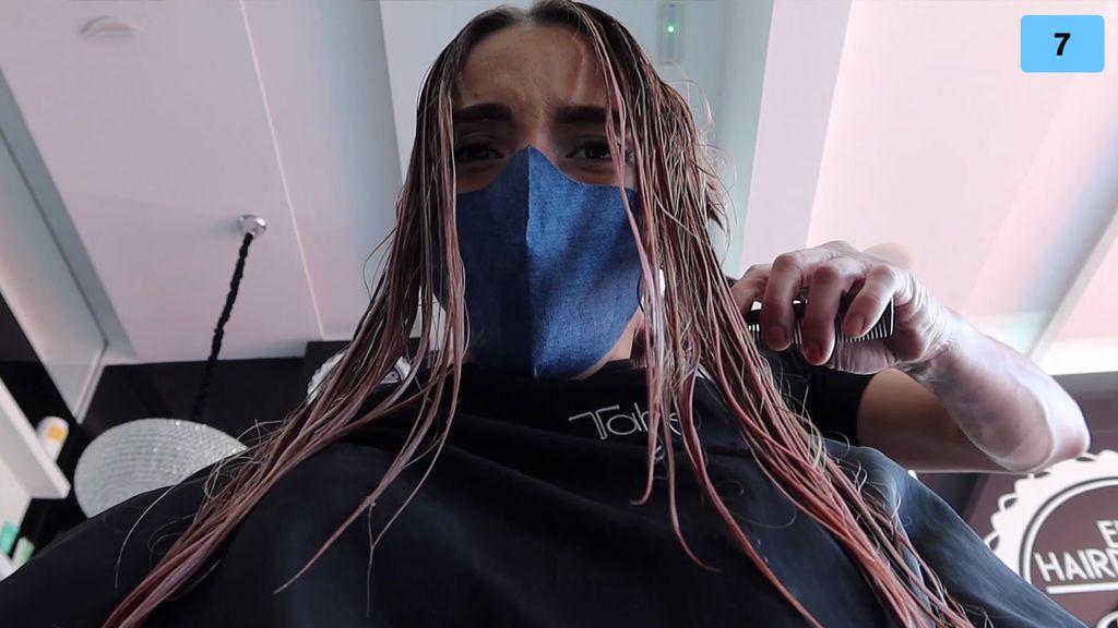 Danna Ponce dice adiós a su pelo y se somete a un cambio de look radical (2/2)