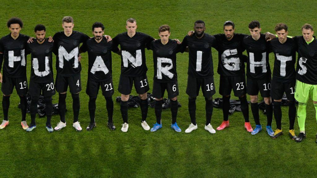 """La FIFA no sancionará a Alemania por su mensaje a Catar antes del partido ante Islandia: """"Derechos humanos"""""""