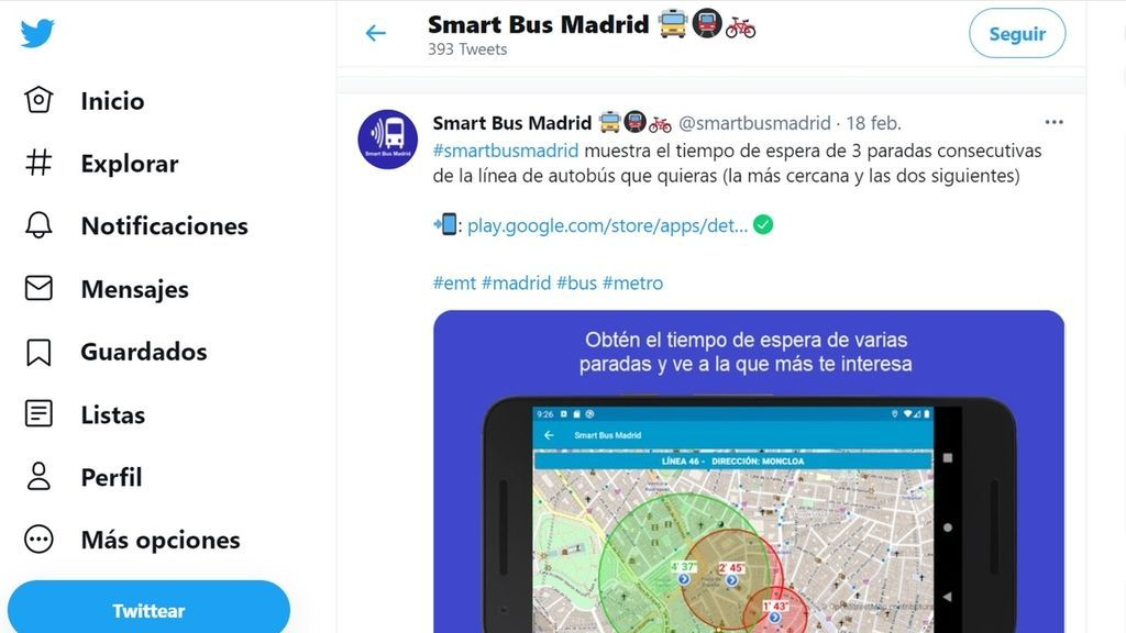 SMART BUS MADRID