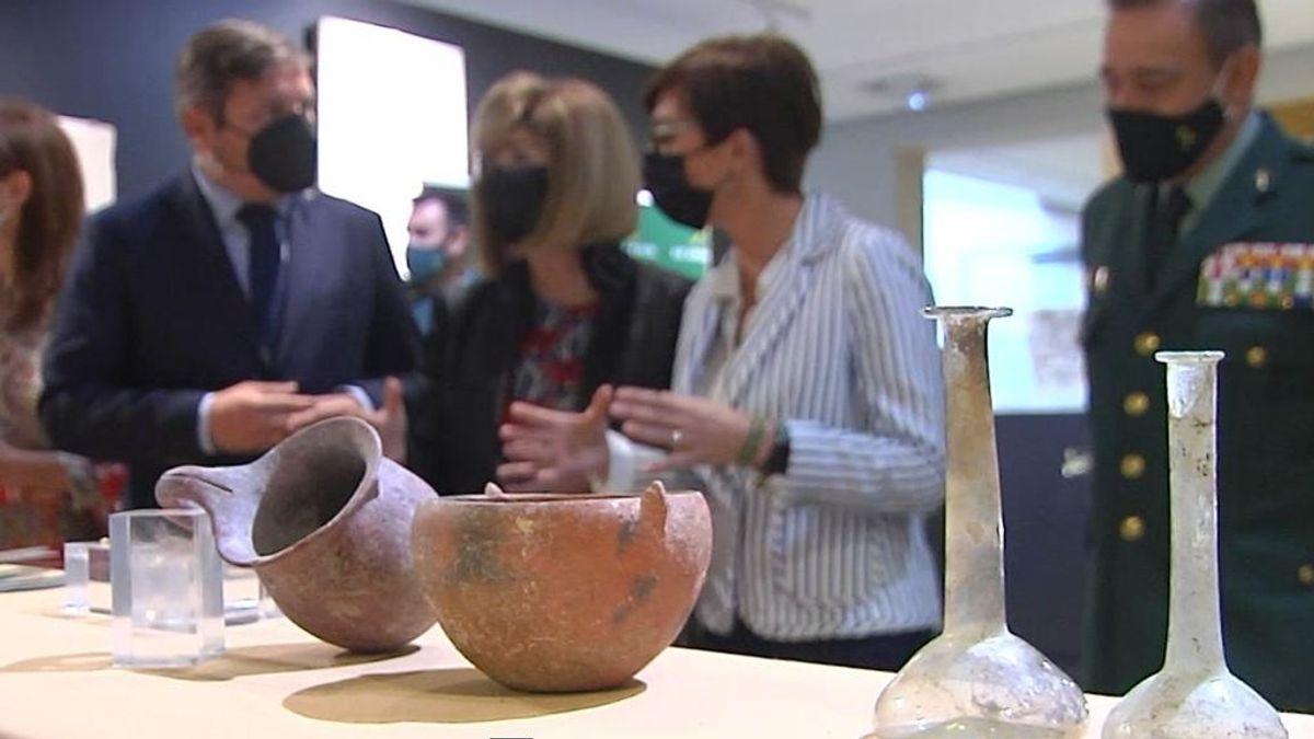 Recuperadas en Córdoba más de 2.000 piezas arqueológicas en dos operaciones contra el patrimonio histórico