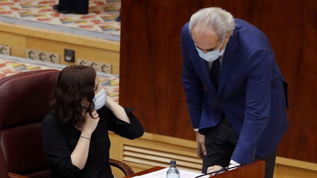 Elecciones Madrid 2021: Ayuso llevará como número dos a su consejero de Sanidad, Ruiz Escudero