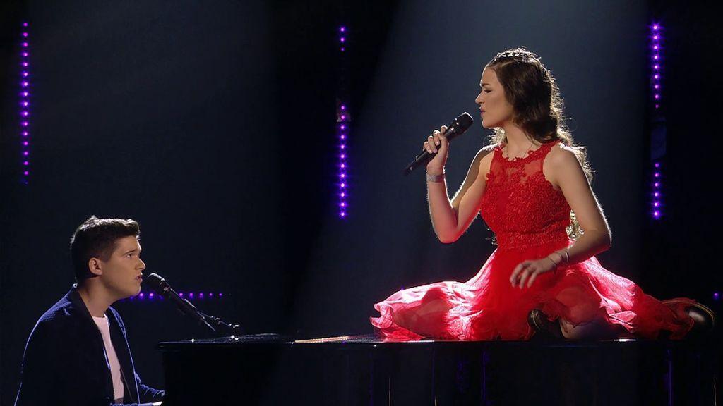 Marta y Sergi regresan a 'Got talent' tras enamorar con su audición