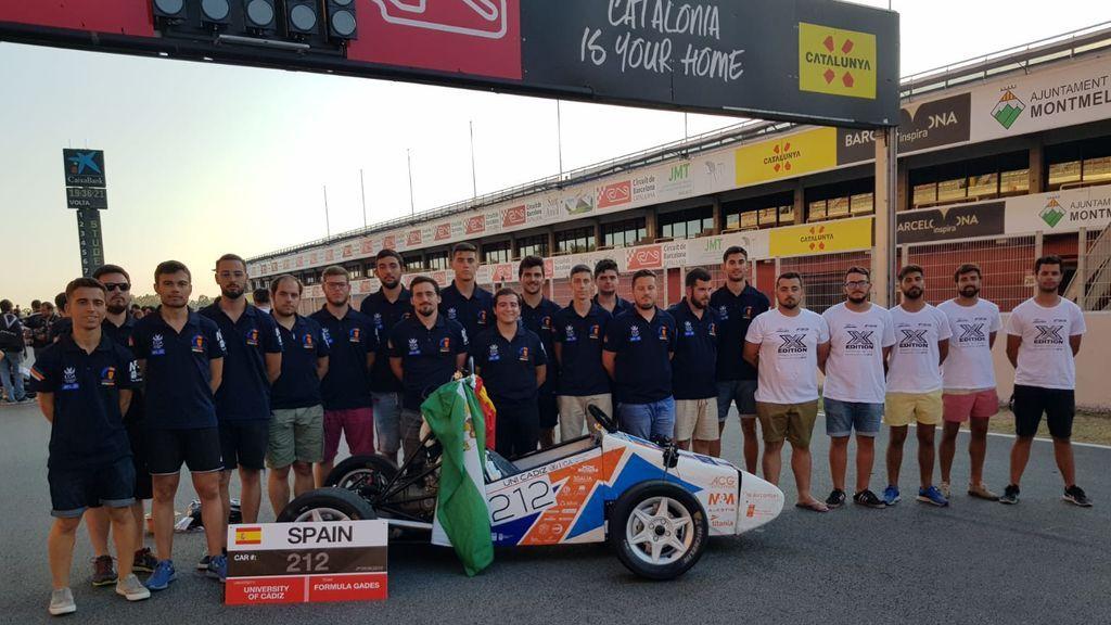 Jóvenes de Universidad de Ingeniara de Cádiz logran el segundo puesto mundial con su coche de Formula 1