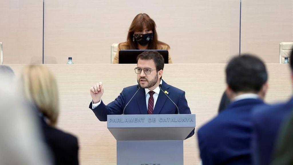 """Aragonès pide apoyo para ser presidente de una nueva """"Generalitat republicana"""""""