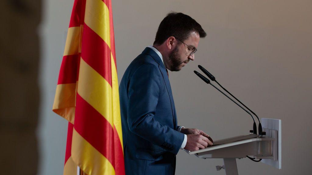 Aragonès no logra la presidencia y encara una segunda votación con su investidura pendiendo de un hilo