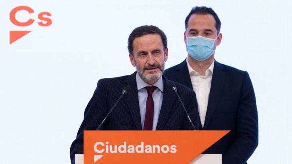 Elecciones Madrid 2021: Edmundo Bal arrasa en las primarias y se convierte en el candidato de C's al 4M