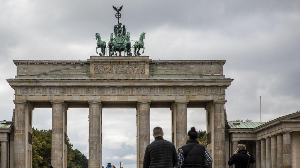 La Puerta de Brandeburgo en plena pandemia