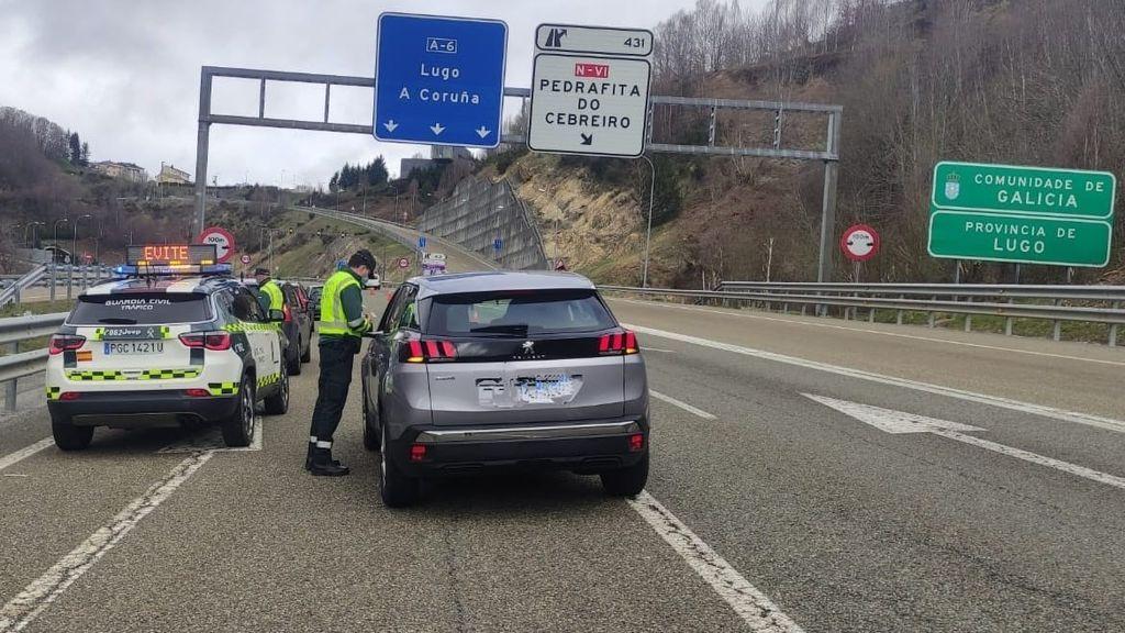 Control de tráfico en Jerez