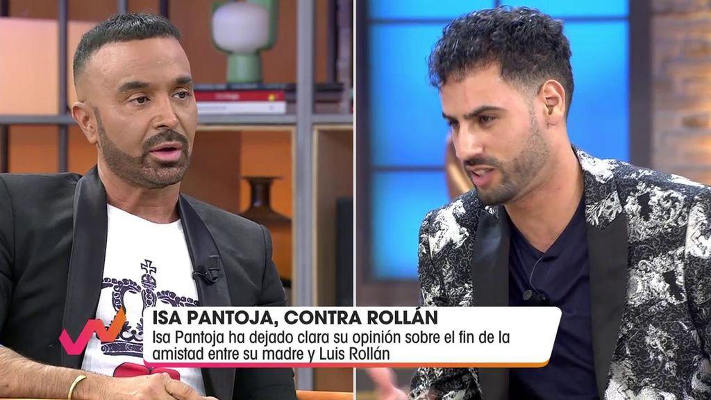 El enfrentamiento entre Luis Rollán y Asraf Beno