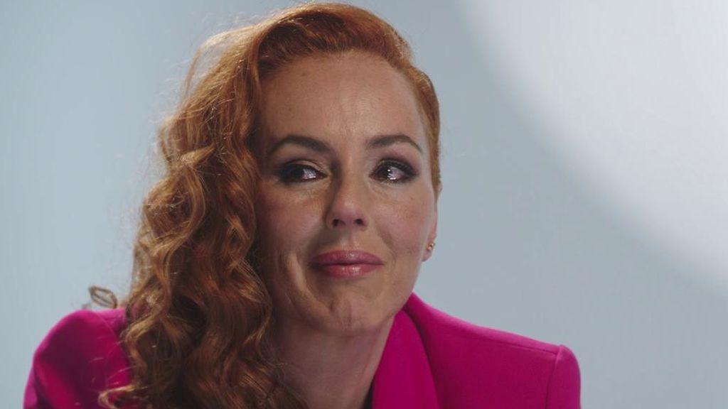Rocío Carrasco llora al recordar el momento en el que supo que estaba embarazada