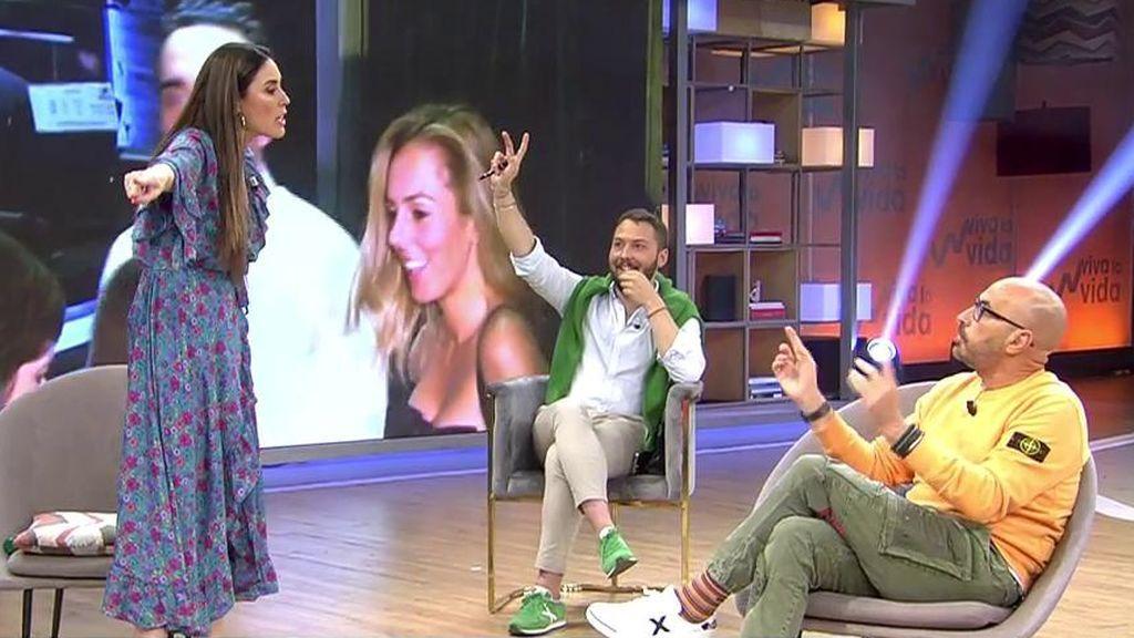 Isabel Rábago se enfada con Diego Arrabal en directo