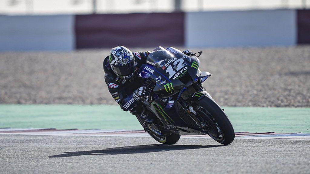 Maverick Viñales se luce en el arranque del Mundial de MotoGP en Losail