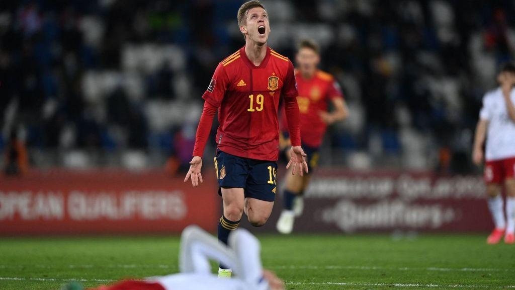 Dani Olmo devuelve a la vida a España ante Georgia (1-2)