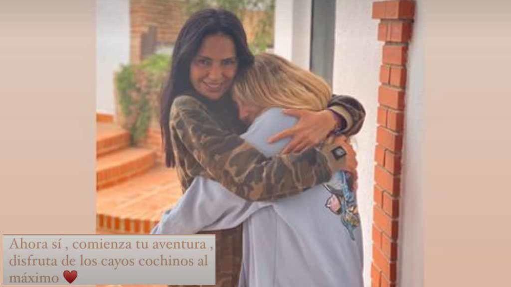 La imagen publicada en stories por Rocío Flores