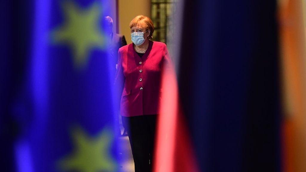 """Escalada en la """"bronca"""" entre Merkel y los landers por el coronavirus"""