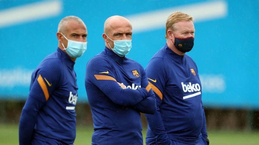 """Koeman vuelve a los entrenamientos tras su polémico """"viaje de negocios"""" a Marbella"""