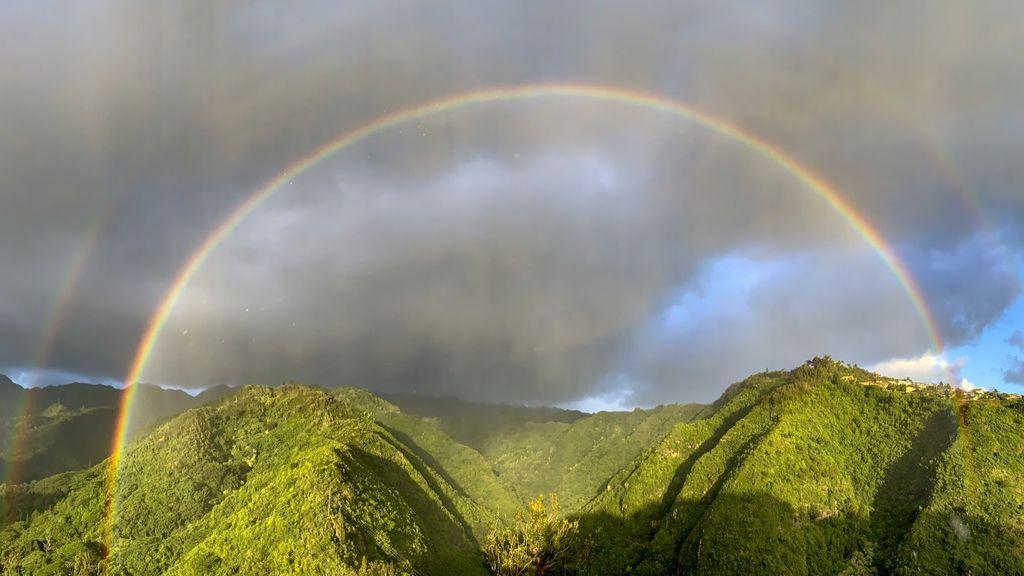 ¿Por qué es Hawái el paraíso de los arcoíris? Estos son los factores que los hacen más coloridos allí