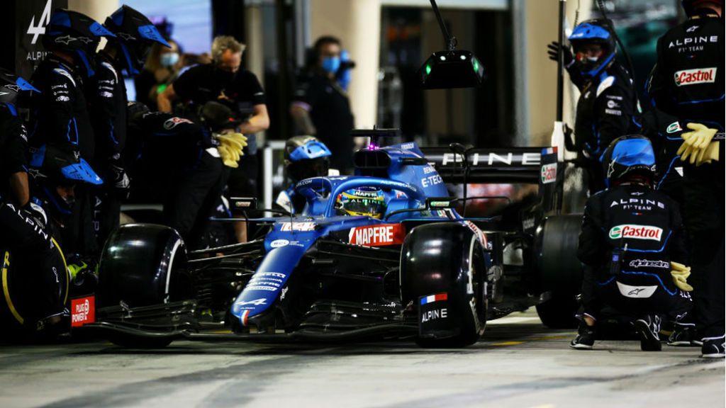 El envoltorio de plástico de un bocadillo, culpable del abandono de Fernando Alonso en su regreso a la Fórmula 1