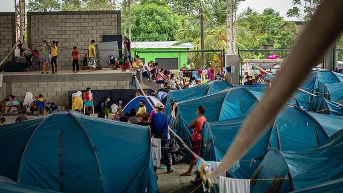 5.000 migrantes venezolanos llegan el fin de semana a Colombia