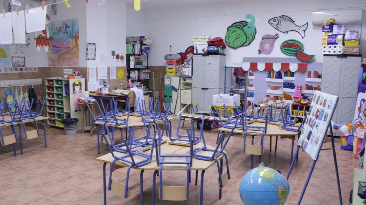 Solo el 0,4% de las aulas escolares están en cuarentena antes de comenzar la Semana Santa