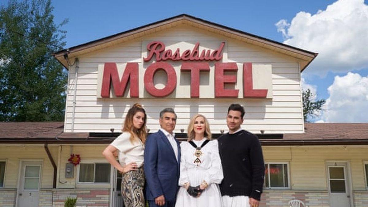 El Motel Rosebud de la serie 'Schitt's Creek', a la venta por 1,4 millones de euros pero sin su emblemático cartel