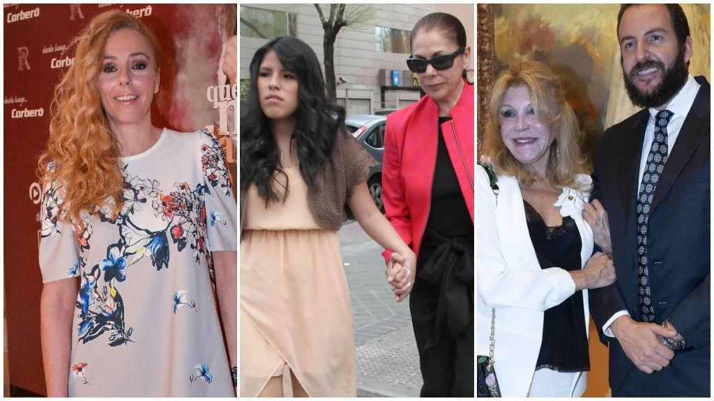Rocío Carrasco, Madonna, Isabel Pantoja y la Baronesa Thyssen: así ha sido la complicada relación que han mantenido con sus hijos.