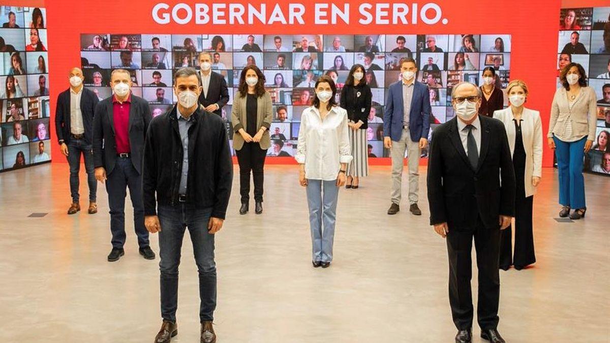 La presencia de Iglesias complica la estrategia de Gabilondo de captar votos por el centro