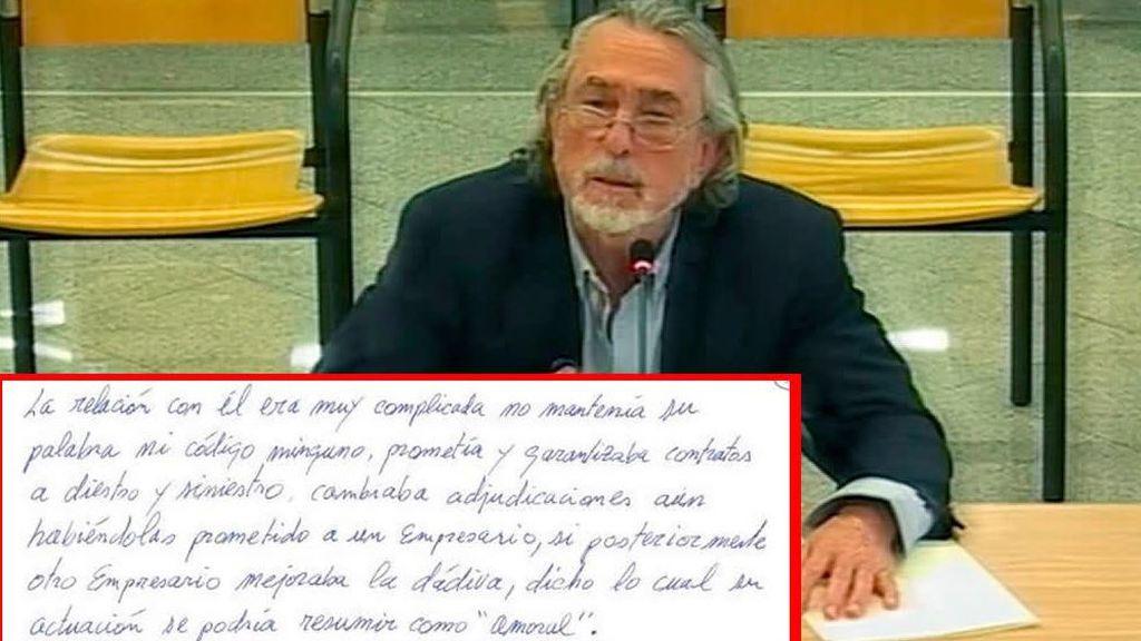 """La acusación de Correa al exalcalde de Boadilla González Panero: """"Prometía contratos a diestro y siniestro"""""""