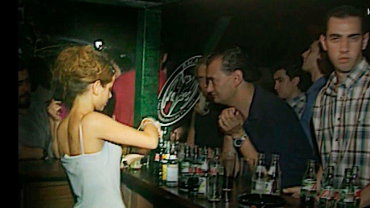 Imagen de la discoteca en la que Rocío vio la infidelidad de Antonio David con Sonsoles