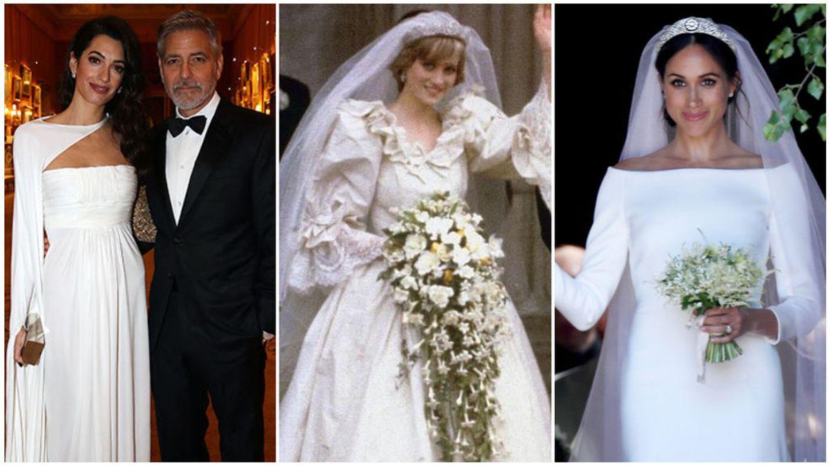 Desde Amal Clooney hasta Lady Di y Meghan Markle: descubre los perfumes que utilizarón el día de su boda.