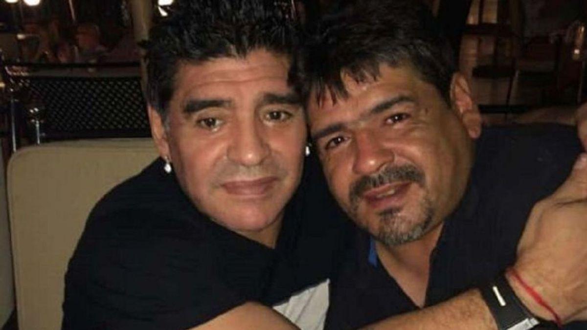 """La experiencia paranormal del hermano de Maradona: """"Hay noches que me despierto y me encuentro con que Diego me está hablando"""""""